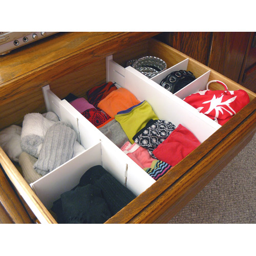 Expandable Dresser Drawer Dividers In Drawer Dividers