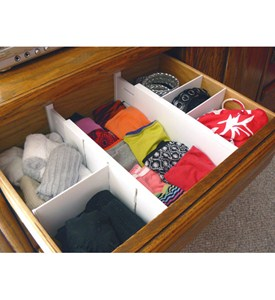 Expandable Dresser Drawer Dividers Image