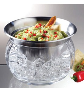Iced Dip Bowl with Lid Image