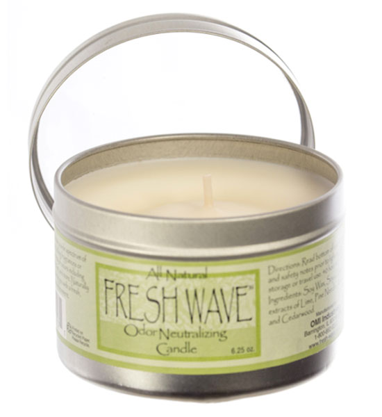 fresh wave odor candle in air fresheners and ca