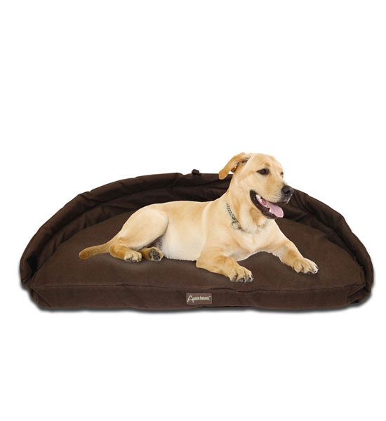 Adelaide Dog Bed - Chocolate Image