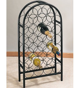 Steel Wire Wine Rack - 27 Bottle Image