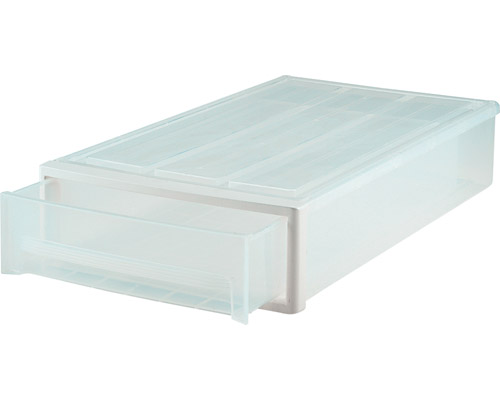 Plastic Under Bed Storage Drawer Clear In Storage Drawers