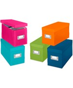 Colorful Plastic CD Boxes