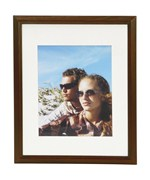 Metz 11 x 14 Wooden Picture Frame - Walnut