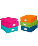Colorful Plastic Document Boxes