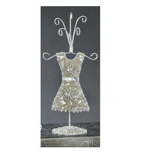 Silver Dress Jewelry Display Image