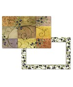 CounterArt Reversible Placemat - Tuscan Olives