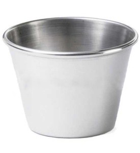 Stainless Steel Condiment Cup Image