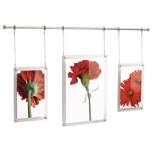 Mounted Hanging Picture Frame Set - 3 Frames in Photo Frames