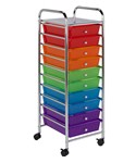 10 Drawer Storage Cart