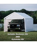 ShelterLogic 8 Leg Outdoor Shade Canopy