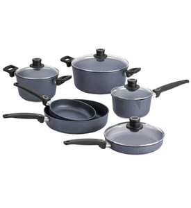 Woll 10 Piece Non-Stick Diamond Plus Cookware Set Image