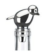 Chrome Metal Wine Stopper - Perch