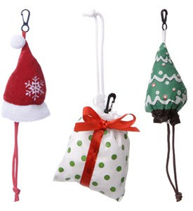 Holiday Reusable Shopping Bags Image