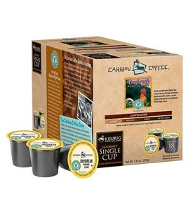 Caribou Coffee Daybreak Morning Blend K-Cups (Set of 18) Image