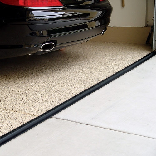 Tsunami Garage Door Seal Black In Garage Floor Protection