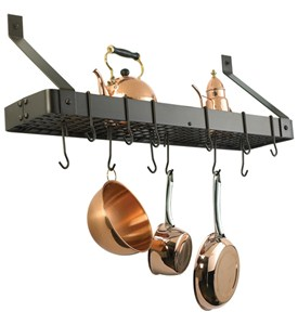 Old Dutch Wall Pot Rack - Rectangle Image
