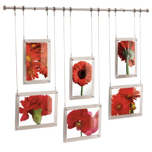 Mounted Hanging Picture Frame Set - 6 Frames in Photo Frames