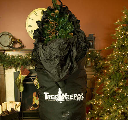 Deluxe Upright Artificial Christmas Tree Storage Bag With