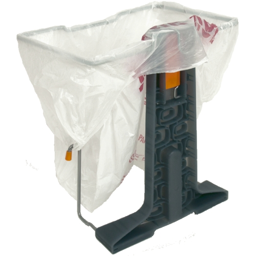 Grocery Bag Trash Stand In Plastic Bag Recyclers