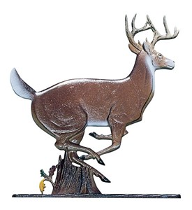 Whitehall Address Sign Ornament - Buck Image