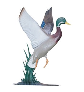Whitehall Address Sign Ornament - Duck Image