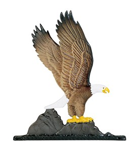Whitehall Address Sign Ornament - Eagle Image