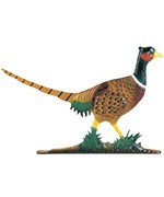 Whitehall Address Sign Ornament - Pheasant