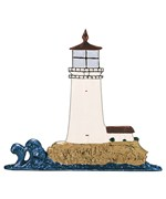 Whitehall Address Sign Ornament - Lighthouse