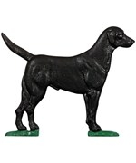 Whitehall Address Sign Ornament - Black Lab