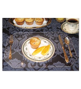 Transparent Acrylic Placemats (Set of 2) Image