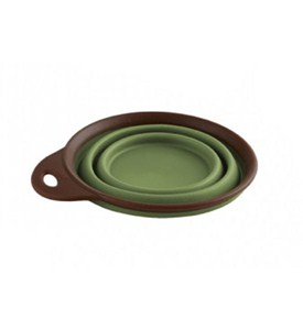 Small Collapsible Travel Pet Food and Water Cup Image