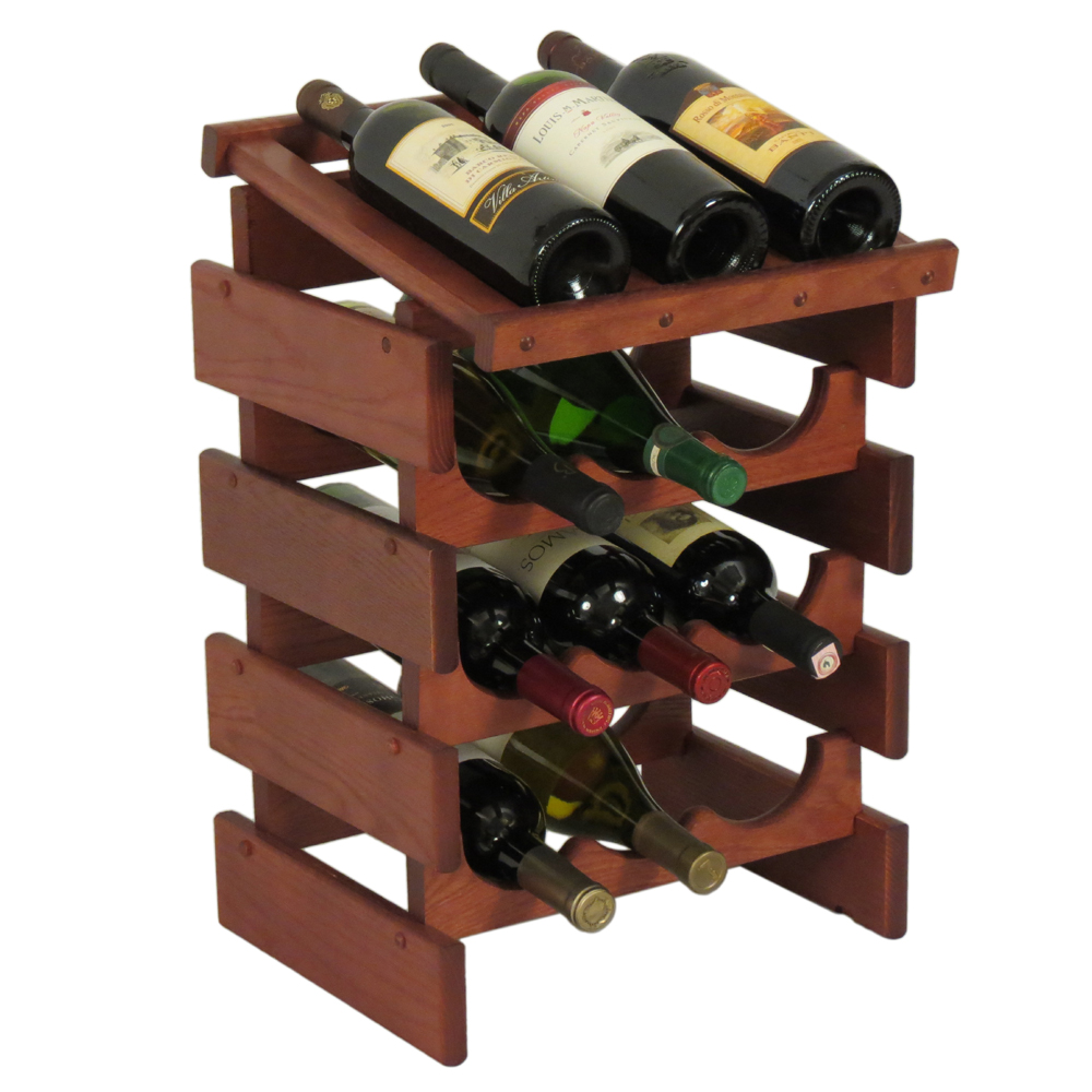 12 Bottle Wine Display In Wine Racks