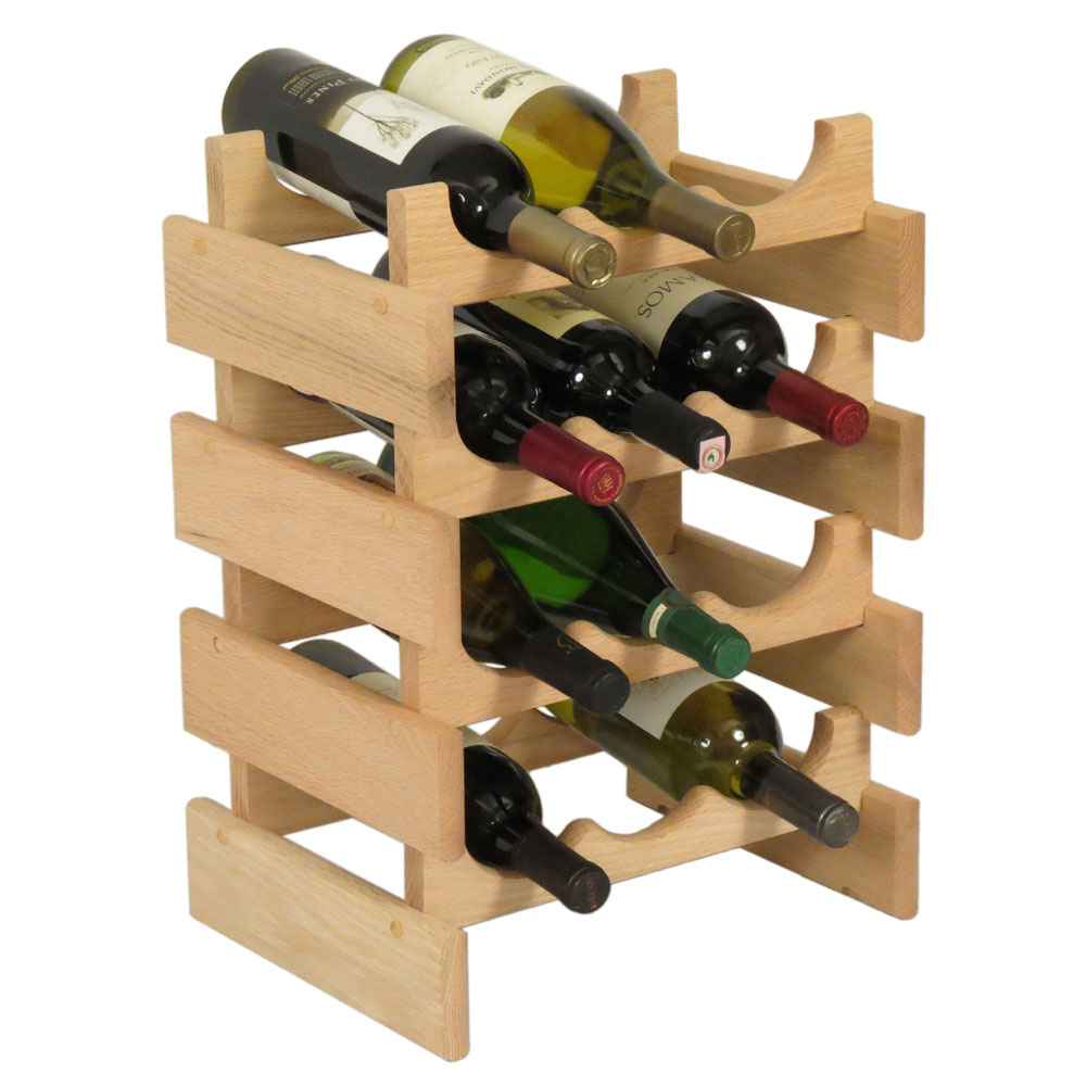 12 Bottle Wine Rack Vertical In Wine Racks