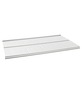 12 Inch freedomRail Ventilated Shelf - Nickel Image