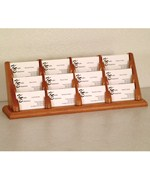 Business Card Display - 12 Pocket