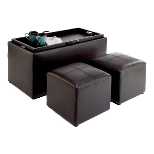 Storage Bench And Ottomans In Ottomans