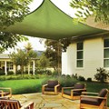 ShelterLogic 12 x 12 Outdoor Square Sun Shade Sail