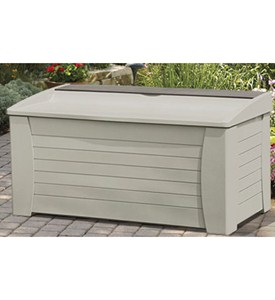 Deck Box with Storage Compartment Image