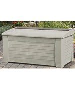 Deck Box with Storage Compartment