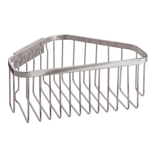Stainless Steel Corner Shower Basket Image