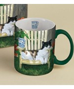 Coffee Mug - Cat and Patio Chair