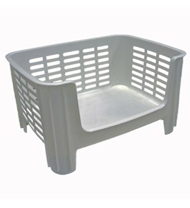 Stackable Storage Bin - White Image