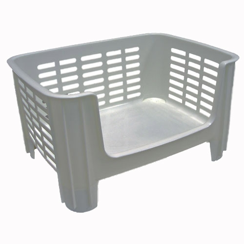 Stackable Storage Bin   White Price: $9.99