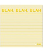 Sticky Note Pad - Blah