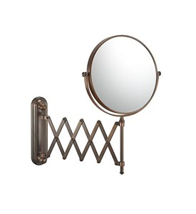 Bronze Extension Arm Mirror Image