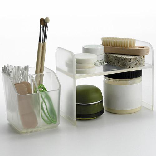 oxo bath accessories medicine cabinet divided organizer 1