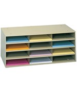 12 Opening Horizontal Literature Rack