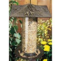 12 Inch Tube Bird Feeder - Trumpet Vine